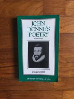 Arthur L. Clements (ed.) - John Donne's Poetry (Norton Critical Editions, 1992)