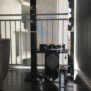 Samsung 5 way Home theatre system