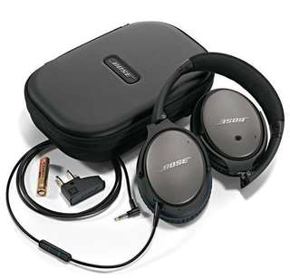 QC25 Bose factory refreshed. Factory sealed.