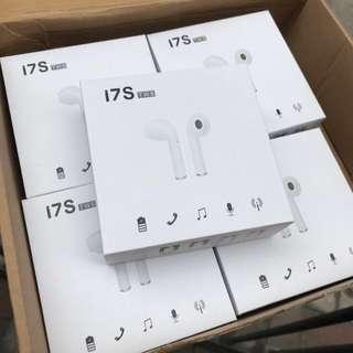 i7S藍牙無線耳機 最後幾套 iPhone /Samsung 機合用