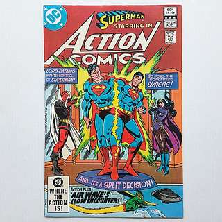 DC Comics Action Comics 534 Near Mint Condition Bronze Age
