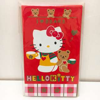 1997 Sanrio Hello Kitty 利是封 10個裝