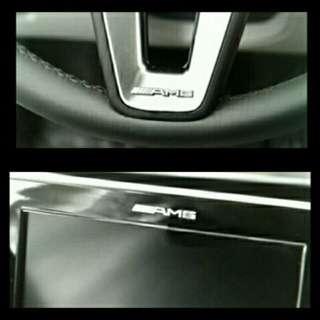 Mini AMG Emblem for Mercedes