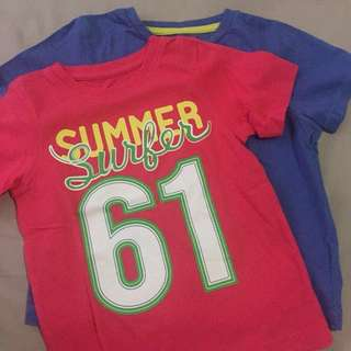 2 Boys T Shirt Mothercare