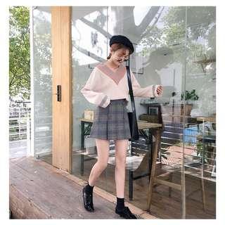 🚚 格子短裙‼️全新