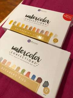 Prima watercolour confections palettes