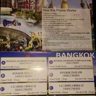 Travel Voucher 1k