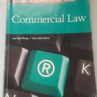 Laws book. Commercial law