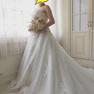 手工新娘禮服2件