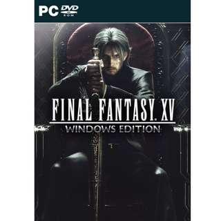 FINAL FANTASY XV WINDOWS EDITION Steam Key GLOBAL PC