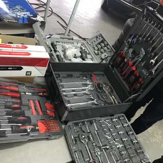 Koufer Tools + Michelin Air Tools Set