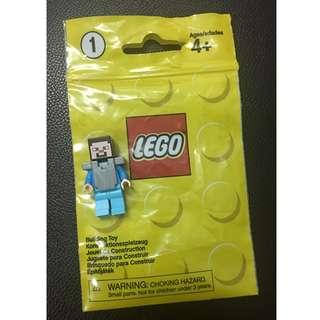 (Free postage) LEGO Minecraft Steve figurine (original brand)