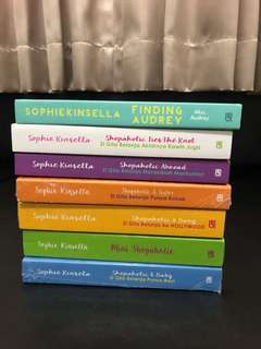 Shopaholic Series & Finding Audrey - Sophie Kinsella