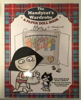 文地貓The Mandycat's Wardrobe A Paper Doll Book