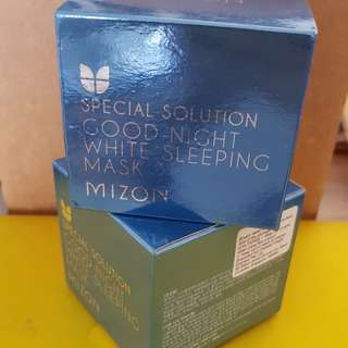 Mizon good night white sleeping mask
