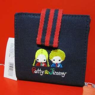 Sanrio Patty&Jimmy 繡花銀包