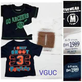 sporty shirts set