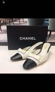 清貨Chanel Leather Sandals