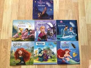 Disney Children Books with CD