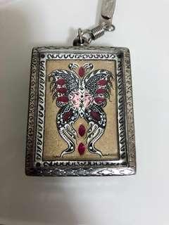 Kruba Krissana miracle block b Butterfly Amulet