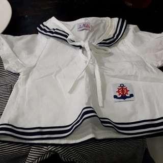 Kids sailor set