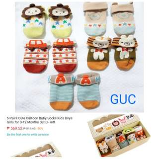 cartoon baby socks