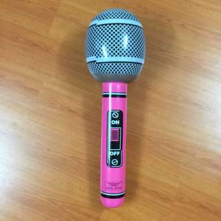 Huge microphone inflatable float
