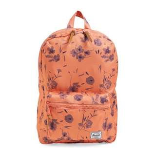 [INSTOCK] HERSCHEL SUPPLY SETTLEMENT BACKPACK (RUBI BURNT CORAL) - TWO ZIPPER