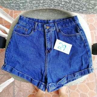 Highwaist Shorts Size 29