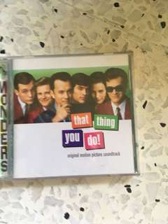"""""""That thing you do"""" OST - original CD"""