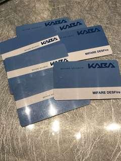 Kaba Digital Lock - Key Cards