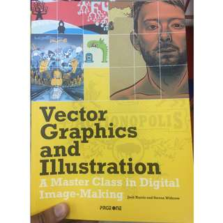 Vector Graphic and illustration Book