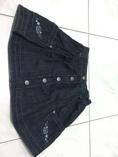Rok jeans anak cewek import