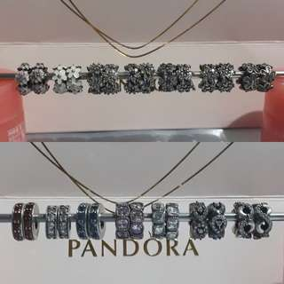 Pandora Spacers 2 for 1200php