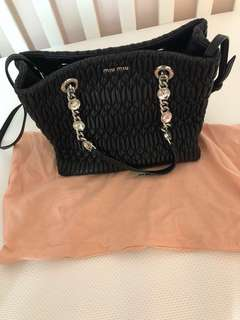 Miu Miu matelasse Jewelry bag 90%new