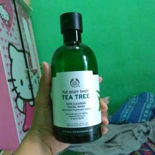 ORIGINAL THE BODY SHOP Tea Tree Facial Wash