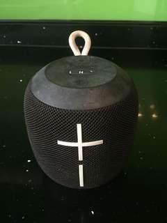 Bluetooth Speaker - UE Wonderboom (Black & White accent)