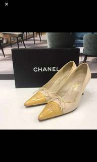 清貨Chanel Leather High Heel