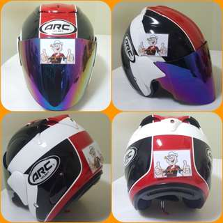 1703***ARC AR1 TIARA Helmet For Sale 😁😁Thanks To All My Buyer Support 🐇🐇 Yamaha, Honda, Suzuki