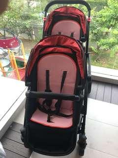 Contours Options Elite Tandem Stroller (Pre-loved)