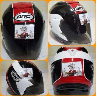 1703***ARC AR1 TIARA Helmet For Sale 😁😁Thanks To All My Buyer Support 🐇🐇 Yamaha, Honda, Suzuki