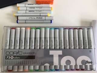 Copic Sketch Markers 72 Set B