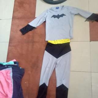 Batman Costume Top and Bottom