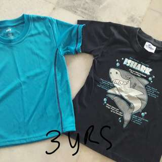 Tshirt for young boys
