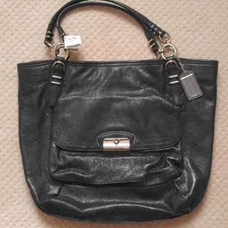 New With Tag Coach Leather Tote Bag