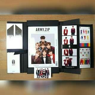 [Free pos]BTS 4th army membership kit