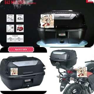 1703---GIVI BOX E43 NTL Mulebox For Sale !!!Brand New (YAMAHA, Honda, SUZUKI, ETC)
