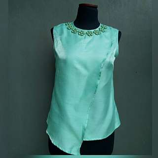 Tosca blouse with beads