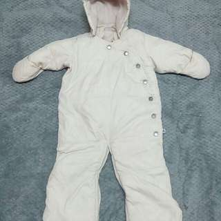 Baby GAP 1969 down snowsuit