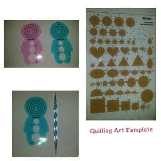 Quilling Art Quill Tool Pen Template Curling Coach Guild Board Plate
